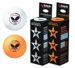 Butterfly 40 mm 3-Star balls - Pack of 6