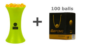 IPONG Topspin Bundle - with 100 balls