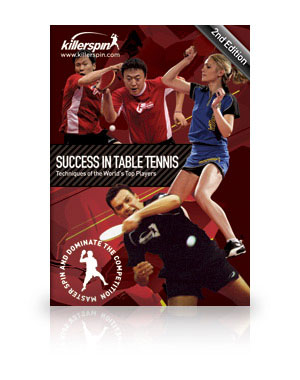 Killerspin Success in Table Tennis DVD - 2nd Edition