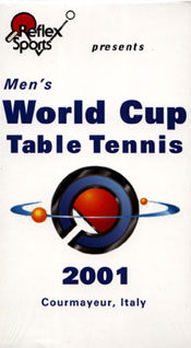 2001 Men's World Cup - Set of TWO DVDs