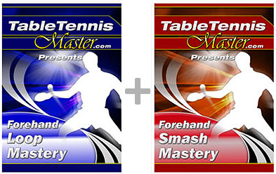 Forehand Loop and Smash Mastery DVD Bundle