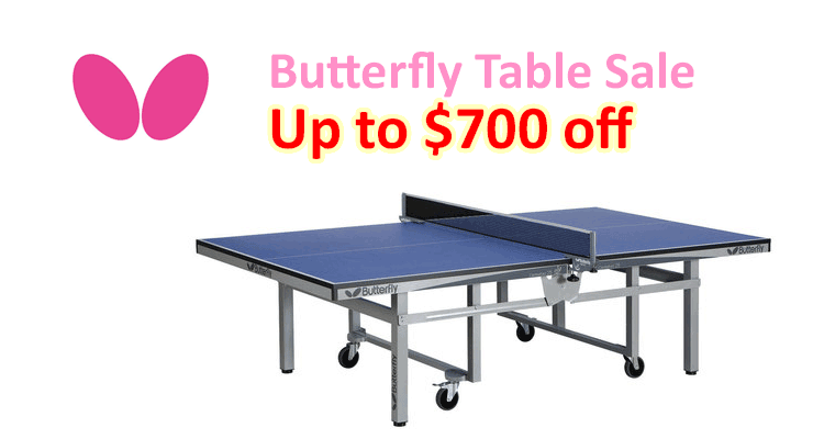 Butterfly Table Sale