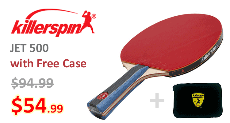 Free Case with Killerspin Jet 500 paddle