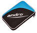 Andro Lumen Single Racket Case - Black/Deep Sea