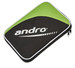 Andro Lumen Single Racket Case - Black/Green