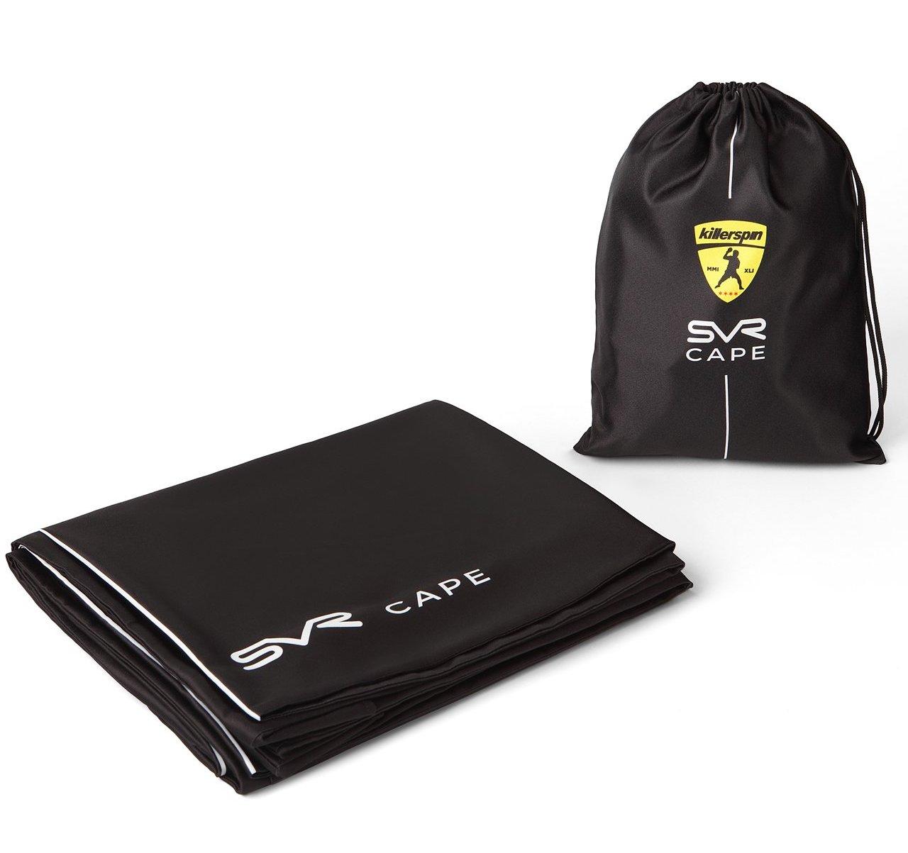 0db13d6c47d Killerspin SVR Cape BlackSteel - folded with bag