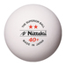Nittaku 2-Star Superior Poly Balls - Pack of 6