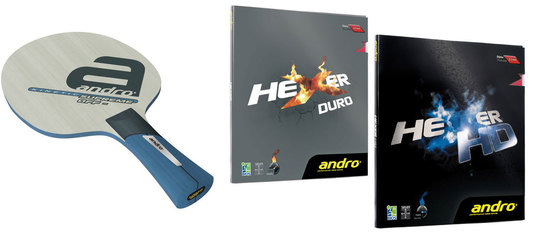 Andro Kinetic Supreme Off Proline W Hexer Hd And Hexer