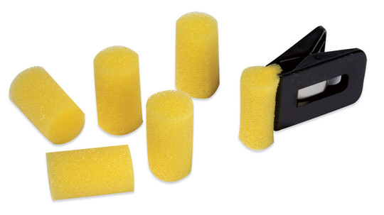 Andro 25 Sponges with 1 clip