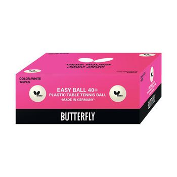 Butterfly Easy 40+ Poly Balls - Pack of 120
