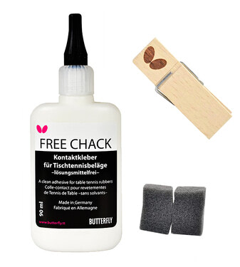 Butterfly Free Chack 90ml w/15 Sponges