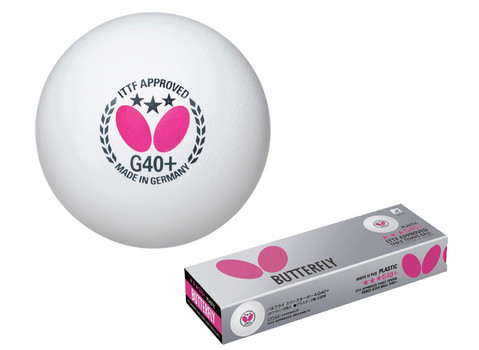 Butterfly 3-Star Ball G40+ - Pack of 12