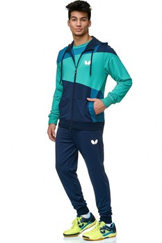 Butterfly Mito Tracksuit Jacket - Navy
