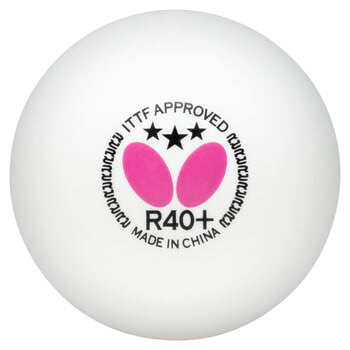 Butterfly 3-Star Ball R40+ - Pack of 12