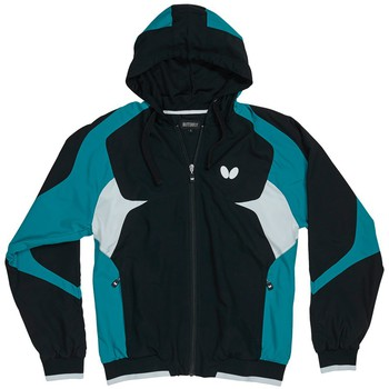 Butterfly Shiro Tracksuit Jacket - Black