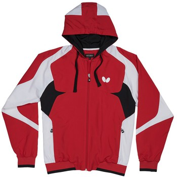 Butterfly Shiro Tracksuit Jacket - Red