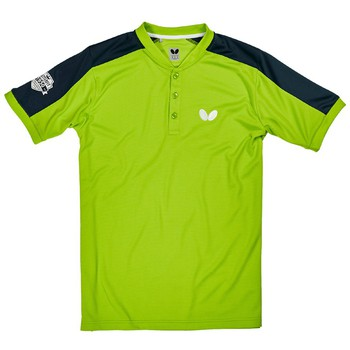 Butterfly Takeo Shirt - Lime