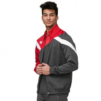 Butterfly Yao Tracksuit Jacket - Red