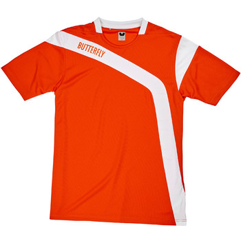 Butterfly Yasu Shirt - Orange
