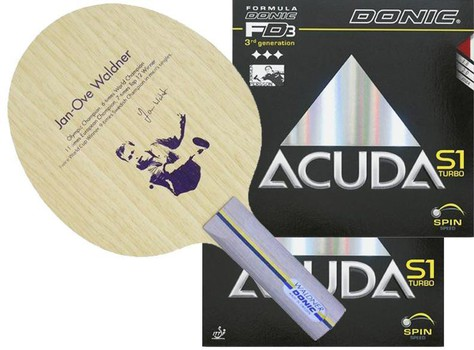 Donic Waldner Offensive 2016 w/Acuda Turbo S1