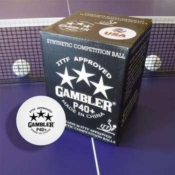 Gambler P40+ 3-Star Balls - Pack of 36