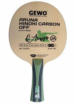 Gewo Aruna Hinoki Carbon Megaspin Net