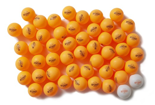 IPONG ABS Spinforce Balls - Pack of 52