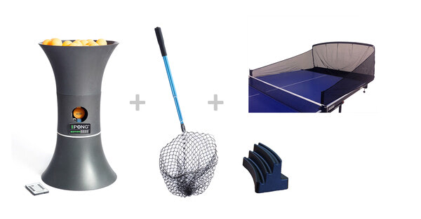 IPONG Trainer Motion w/80 balls, Pickup Net and Catch Net