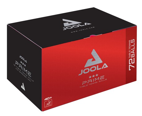 JOOLA Prime 3-Star ABS Balls - Pack of 72