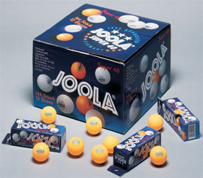 JOOLA Super 3-Star 40mm - 1 gross (144 balls)