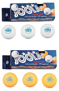 JOOLA Super 3-Star 40mm - Pack of 6