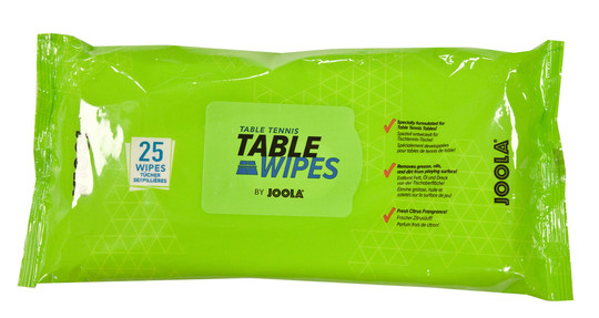 JOOLA Table Wipes - Pack of 25