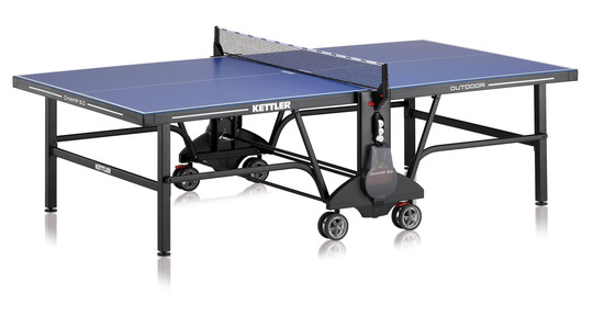 KETTLER Champ 5.0 Outdoor w/2-Player Racket Set and Table Cover