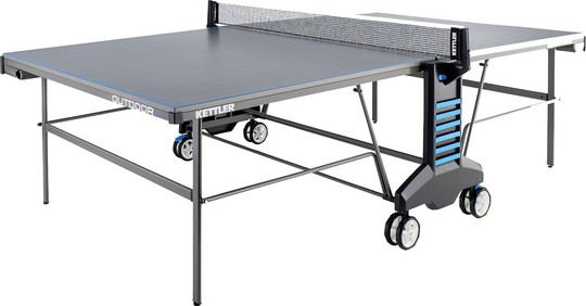 KETTLER Outdoor 4 w/Racket Set and Table Cover