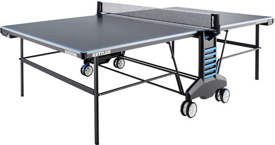 KETTLER Sketchpong w/Racket Set and Table Cover