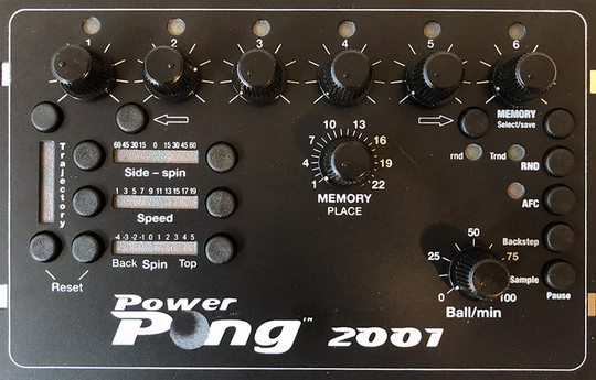 Power Pong 2001