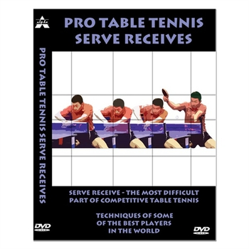 Pro Table Tennis Serve Receives