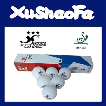 XuShaoFa (XSF) 3-Star Poly Ball 40+ - Pack of 48 (Asia)